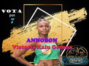 vota a victoria kalu para miss GE