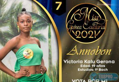 Vota para miss a Victoria Kalu Gerona